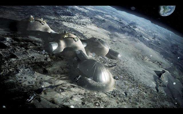 Impresión 3d En La Luna