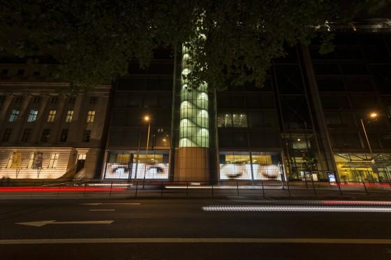 16.000 Leds Para El Arte En Londres